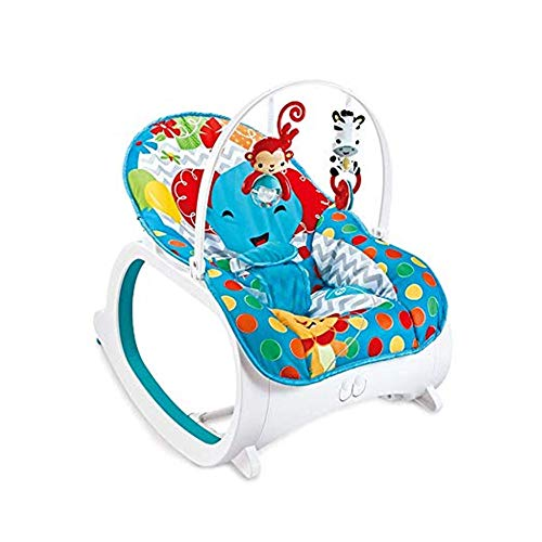DYHQQ Silla Mecedora para bebés, Silla Mecedora eléctrica Multifuncional para niños pequeños,...