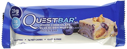 Quest Nutrition 720 g Blueberry Muffin Bars - Pack of 12 Bars
