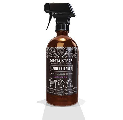 Dirtbusters nettoyant et applicateur de cuir à l'huile de lavande 500ml formule commerciale forte mais neutre ph