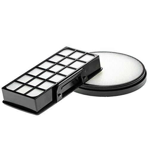 vhbw Set de 2 filtros de aspiradora compatible con Rowenta RO7681, RO7681EA (filtro premotor + de aire de escape)