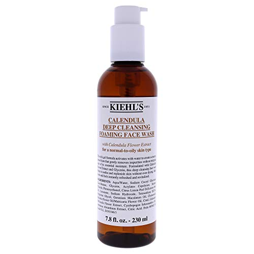 Kiehls Calendula Deep Cleansing Foaming Face Wash 230ml