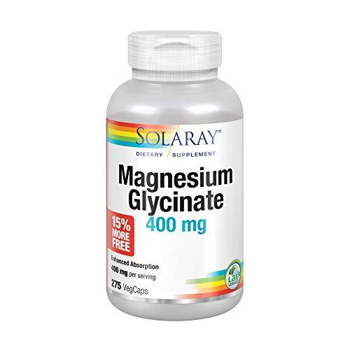 Solaray Magnesium Glycinate 400 mg | Healthy Relaxation, Bone &...