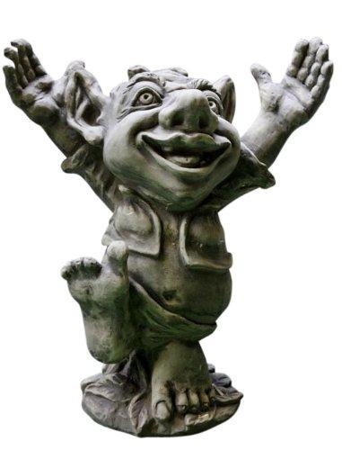"""Troll jubelnd """"GALAHAD"""", Steinguss"""