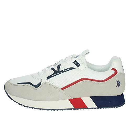 Chaussures sneakers tendance coloré U.S. Polo Assn pour homme - white - EU 43