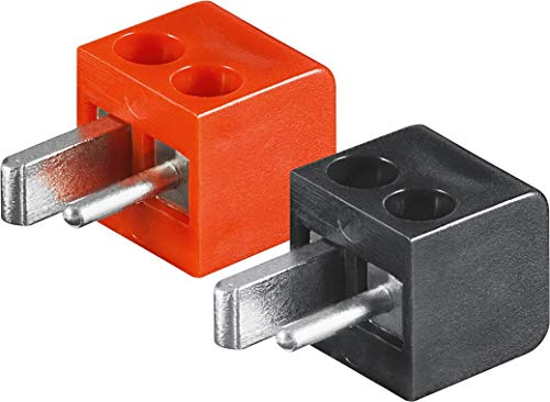 4X Lautsprecher- DIN Stecker (alte DIN Norm); Lötversion ;CE geprüft; Testsieger, Test sehr gut