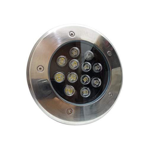 Spot LED Extérieur Encastrable IP65 220V Sol 12W 60° - Blanc Froid 6000K - 8000K - SILAMP