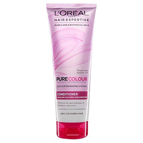 L'Oréal Hair Expertise EverPure Farbpflege und Feuchtigkeitsspendender Conditioner, 250 ml