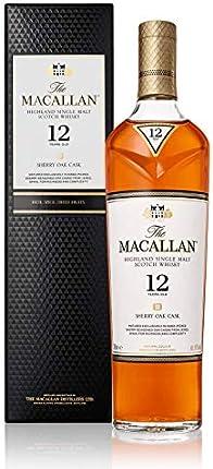 Macallan Highland Single Malt Scotch Whisky 12 Year, 750 ml, 86 Proof