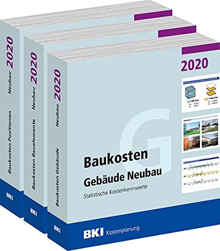 Baukosten Gebäude + Bauelemente + Positionen Neubau 2020: Statistische Kostenkennwerte Teil 1 + Teil 2 + Teil 3