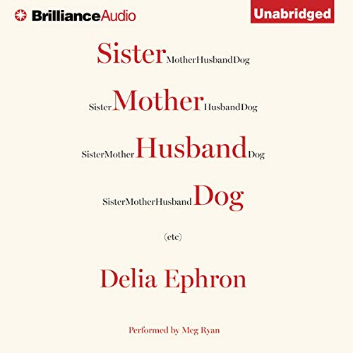 Sister Mother Husband Dog audiobook cover art