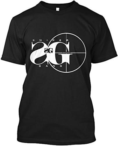 Teespring Unisex Sniper Gang Hanes Tagless T Shirt Large Black product image