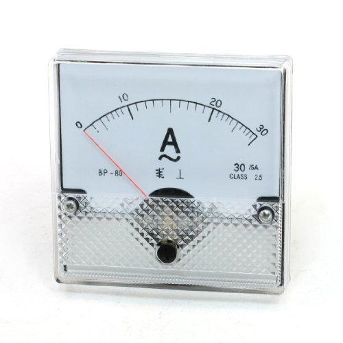 Aexit AC 0-30A Sqaure Analog - Verstärker - Stromprüfgerät Panel Meter Amperemeter (56a686e730d56011fa066345ee5f31d4)