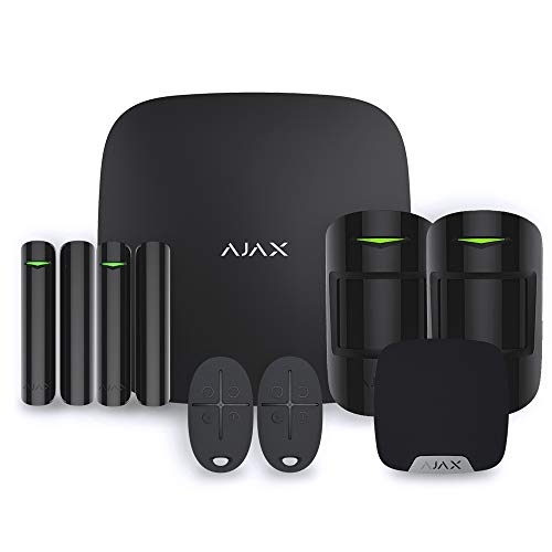 Ajax StarterKit - Alarma de casa, Color Negro