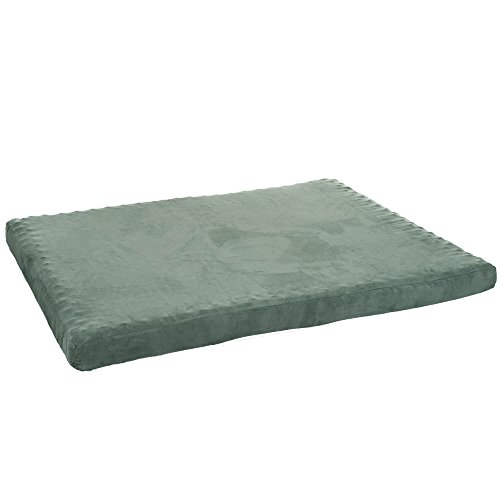 PETMAKER 3 inch Foam Pet Bed - 25.5 x 19 inches - Forest