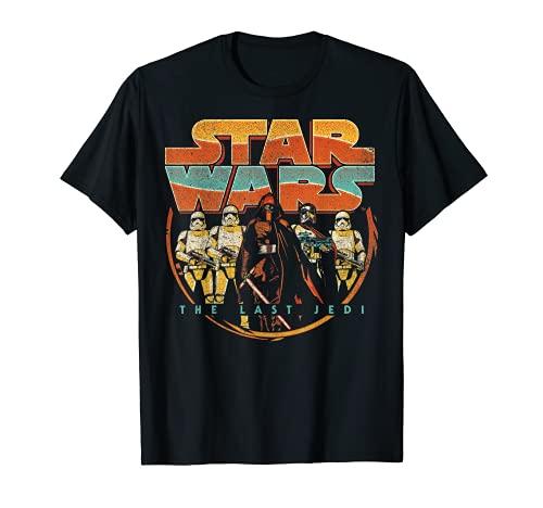 Star Wars Last Jedi Vintage Retro Kylo Ren Camiseta