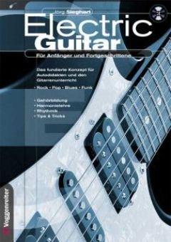 Elektrische gitaar - voor beginners + geavanceerde - gearrangeerd voor elektrische gitaar - met CD [noten / Sheetmusic] Componist: SIEGHART JOERG