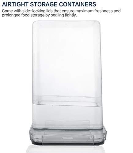 Airtight Food Storage Containers 15-Piece Set, Kitchen