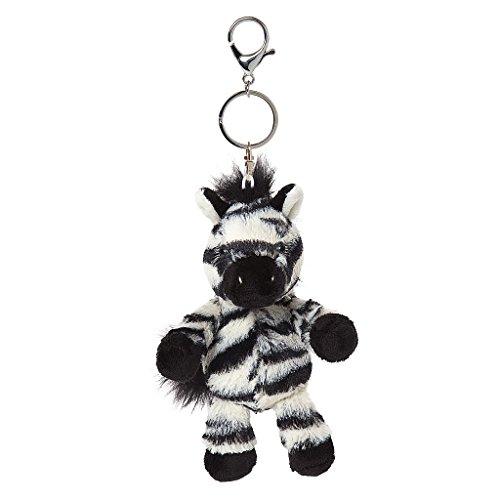 Alle wezens Otis de Zebra sleutelhanger en tas Charm
