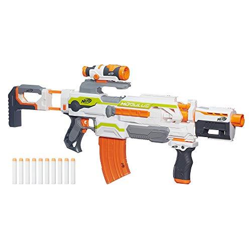 Hasbro Nerf B1538EU6 N-Strike Modulus ECS-10, Spielzeugblaster