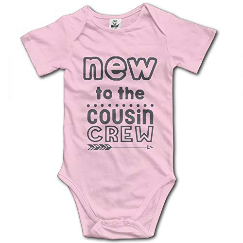 New to The Cousin Crew Baby Bodysuit Funny Onesies Cotton Rompers Jumpsuit