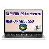 Dell XPS 13 7390 Laptop 13.3' Full HD IPS Touchscreen 10th Gen Intel Quad-Core i5-10210U (Beats i7-8550U)8GB DDR4 512GB PCIe SSD BacklitKB FP MaxxAudio Win 10