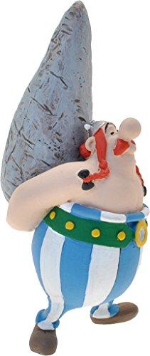 Plastoy SAS PLA60527 - Sammelfiguren, Asterix, Figur Obelix mit Hinkelstein