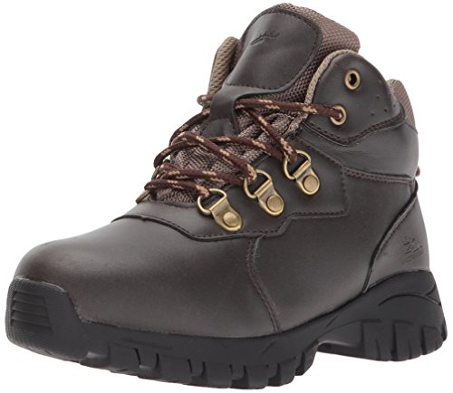 Deer Stags Boys' GORP Hiking Boot, Dark Brown/Taupe, 13 Medium US Little Kid