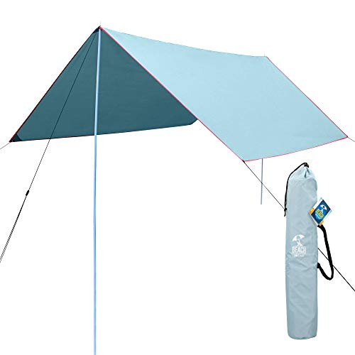 AKTIVE 62183 - Tenda da Spiaggia 300 x 300 x 207 cm UV50 Beach