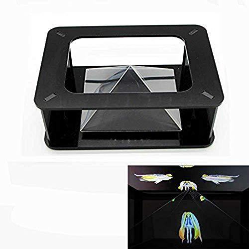 OneMoreT Magic Box 360 Virtual Reality Hologramm 3D Hologramm-Projektion Pyramide Hatsune Miku für iPhone SE iPhone 6s Plus Samsung S6 (alle 8,9-6 Zoll)