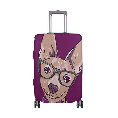 ALINLO - Funda Protectora para Maleta de Viaje con diseño de Carlino Hipster para niños de 18 a 32 Pulgadas, Multicolor (Multicolor) - wllkn365637bz
