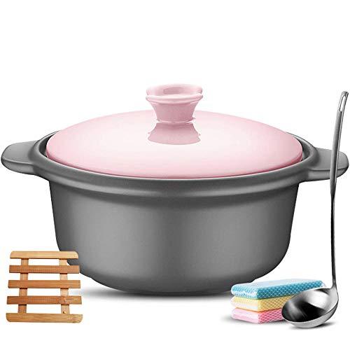Clay Casserole Pot Casserole Dish Casserole Dishes With Lids High Temperature Clay Pot Rice Stone Pot-2.5L