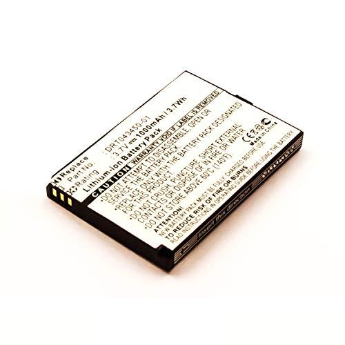 eVendix Akku kompatibel mit Auro M101 3,00 Volt 1000 mAh 3,00 Wh Li-Ion Akku