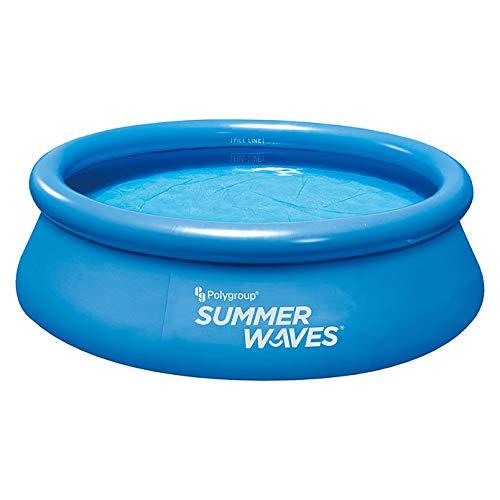 Summer Waves - Juego de piscina (244 x 66 cm, incluye bomba de filtro, cartucho de filtro)