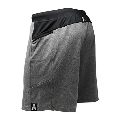Anthem Athletics Hyperflex 7' Crossfit Workout Training Gym Shorts - Volcanic Black - Small