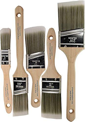 Pro Grade - Paint Brushes - 5 Ea - Paint Brush...