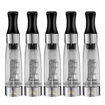 IXIGER 5 x CE4 Transparente Claro Vapor Atomizador para E-Cig Clearomizer para Ego E-Cigarrillo Cigarrillo Electrónico No Nicotina