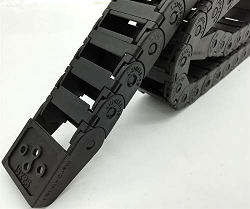 MOUNTAIN MEN Professional Tools, Open Drag Chain 15 * 25mm Inner Energy Chain Cable Carrier Industry,Machines (Inner Size : 15x25mm)