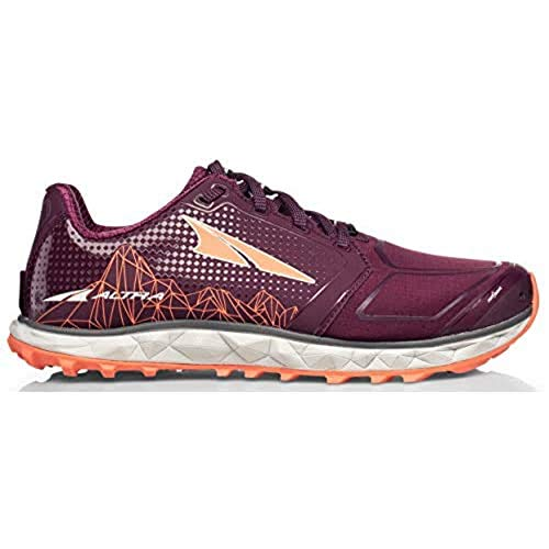 ALTRA Women's AFW1953G Superior 4 Trail Running Shoe, Plum - 10.5 M US