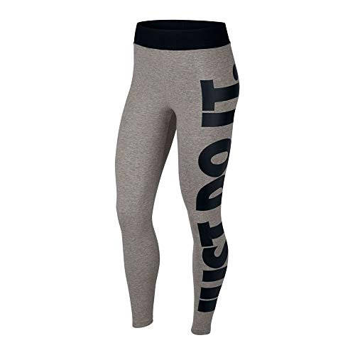 Nike W NSW Legasee Lggng HW JDI, Pantaloni Sportivi Donna, Dk Grey Heather/(Black), L