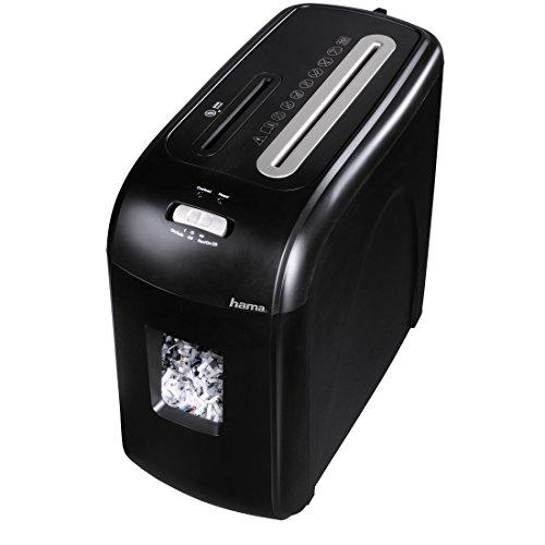 Hama 50184 - Triturador de Papel (22,5 cm, 16 L, 70 dB), Negro