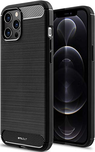 StilGut Carbon kompatibel mit iPhone 12 & iPhone 12 Pro (6.1
