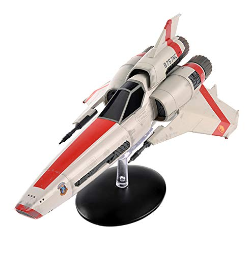 Hero Collector | Battlestar Galactica Collection | Viper Mk II (2004) with Magazine Issue 1 by Eaglemoss