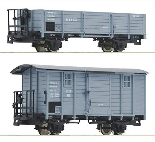 Roco 34559 2-TLG. Set: Güterwagen, RüKB