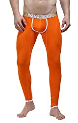 thermal underwear cotton for men orange