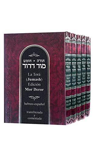 La Torá (Jumash). Edición Mor-Deror. Hebreo-español, transliterada y comentada