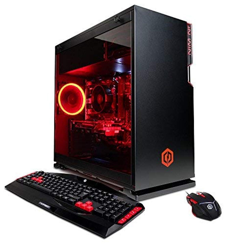 ニコチンスクリュー神聖CYBERPOWERPC Gamer Master GMA7800CPG Gaming PC (AMD Ryzen 3 2200G 3.5GHz NVIDIA GeForce GTX 1050 Ti 4GB 8GB DDR4 RAM 2TB HDD 802.11AC WiFi & Win 10 Home) Black [並行輸入品]