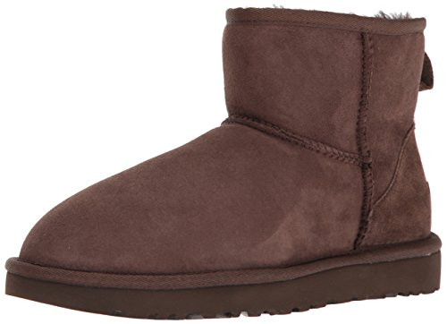 UGG Mini Classic II, Stivali Classici Donna, Marrone (Chocolate), 41 EU