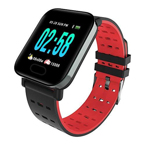 Brazalete Deportivo, Brazalete Inteligente, Presión Arterial Bluetooth Rojo