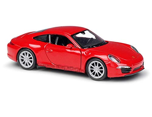 hjj Outdoorying Model Car 1:36 para Porsche 911 para Carrera S Alloy Machine Machine Simulation Collection Toy Pull-Back Veheb Vehicle Colección para niños Regalo jianyou