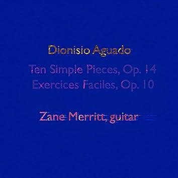 Dionisio Aguado: Ten Simple Pieces, Op. 14 - Exercices Faciles, Op. 10